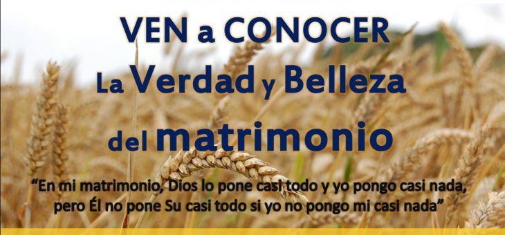 Catequesis Amor Conyugal 1 marzo