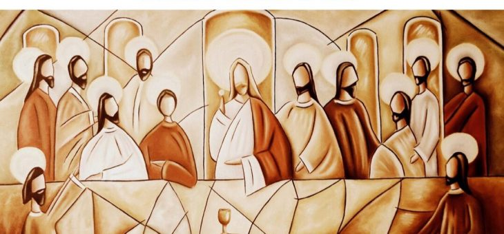 Celebrada Hora Santa jueves 9-abril. Grupo Joven